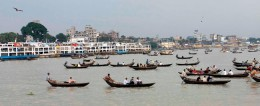 BUSY BURIGANGA NEAR SADARGHAT